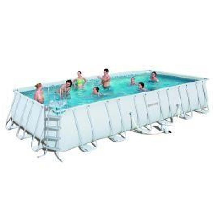 Piscine acier rectangulaire topiwall for Piscine acier rectangulaire