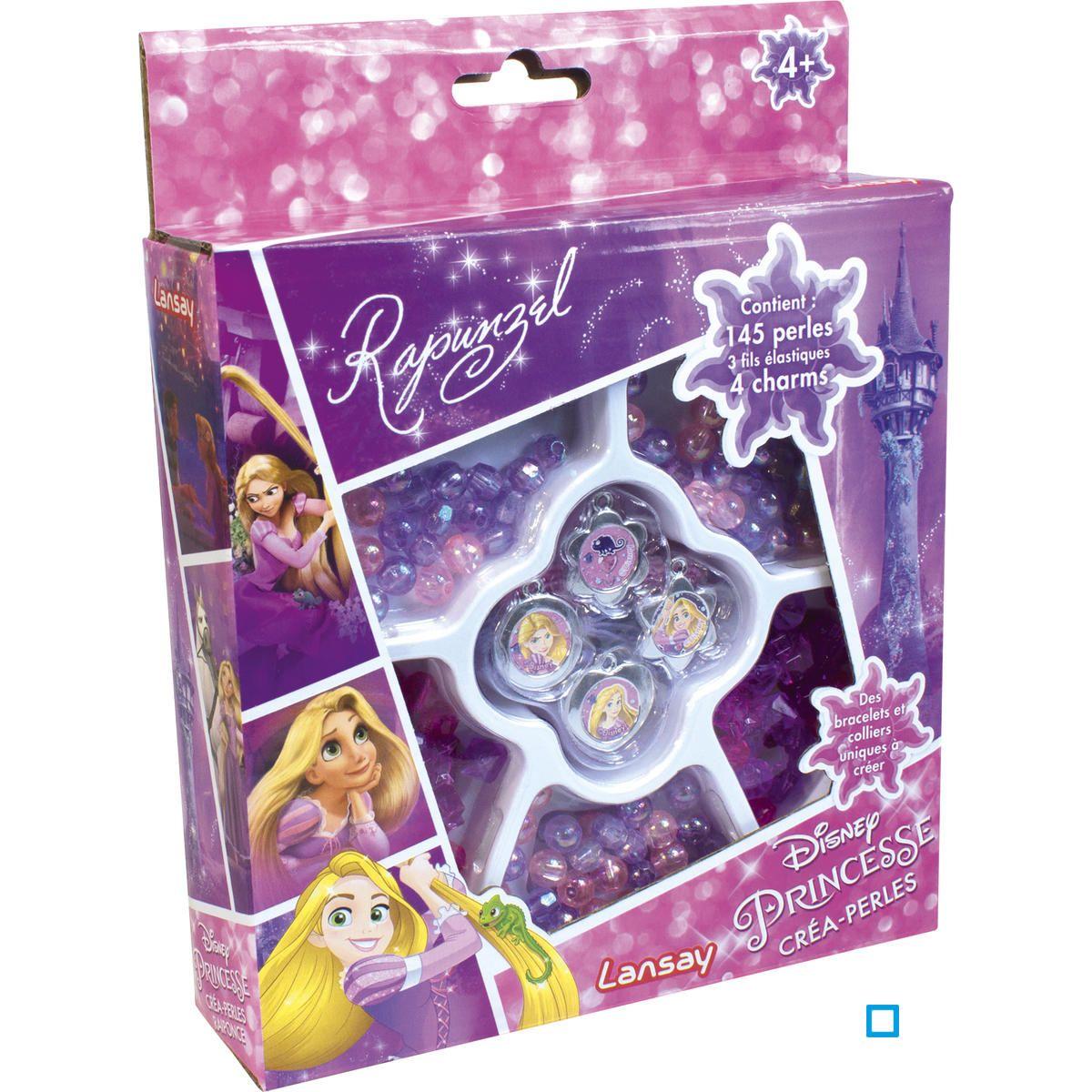 Disney princesses créa perles raiponce lan25113 Lansay | La