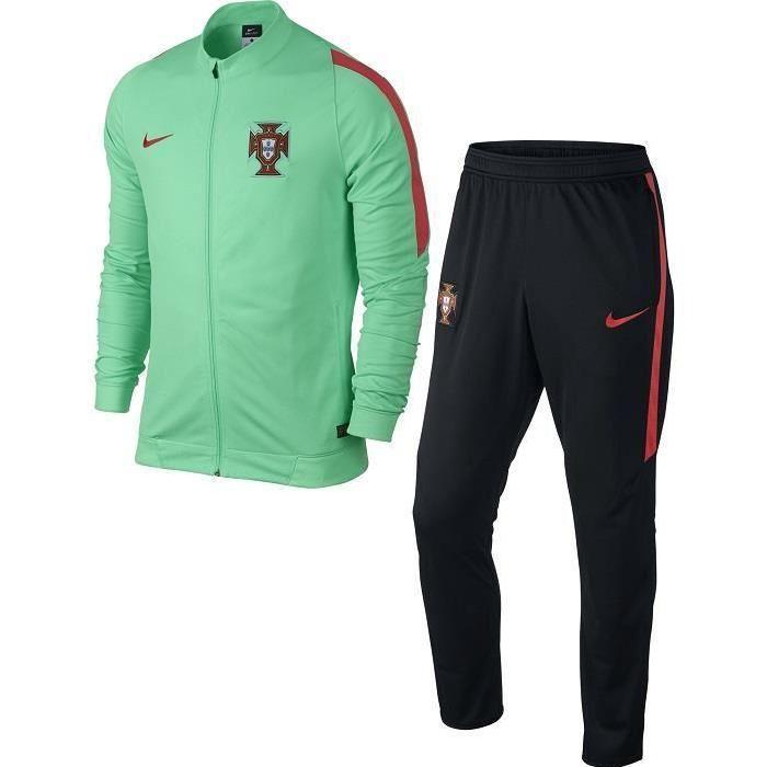 SURVETEMENT TRAINING PORTUGAL VERT/NOIR EURO 2016″MAILLOT PORTUGAL