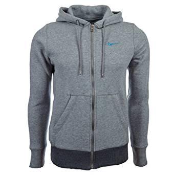 Nike Sweat shirt à capuche Uni Manches longues Homme Noir