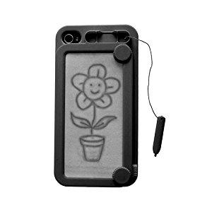 Coque Ardoise magique noire pour iPhone 4 / 4S: High tech