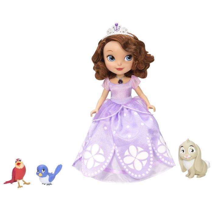 PRINCESSE SOFIA Parlante et ses Animaux Achat / Vente figurine