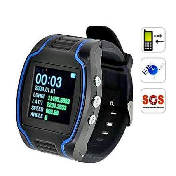 Montre GSM GPRS GPS Traceur espia adulte d'enfants , Achat/vente