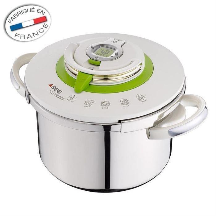 SEB NUTRICOOK Autocuiseur 8 L tous feux dont induction Achat / Vente