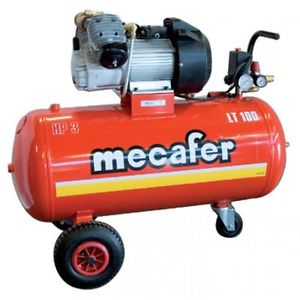 Compresseur 3 CV 100 Litres Mecafer coaxial bicyli neuf
