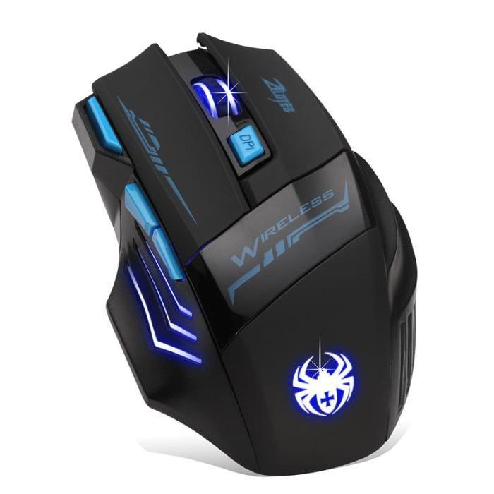 souris optique sans fil Souris Gamer souris d'ordinateur Gaming Mouse