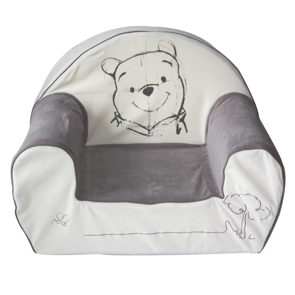 Winnie fauteuil club Crème / Taupe de Babycalin, Fauteuils : Aubert