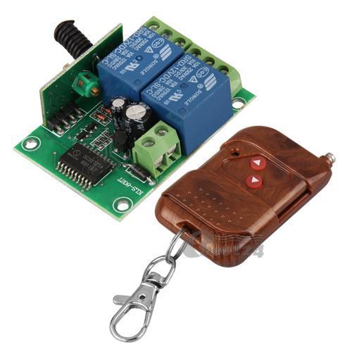 Télécommande Porte Garage Sans Fil + Transmetteur/Emetteur