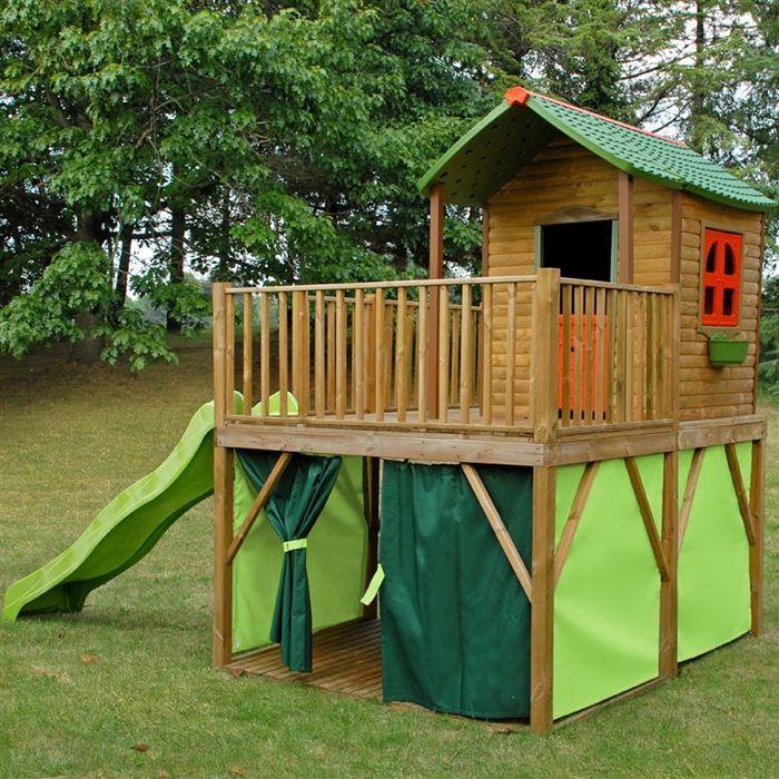 Maisonnette bois Amazone Achat / Vente maisonnette extérieure