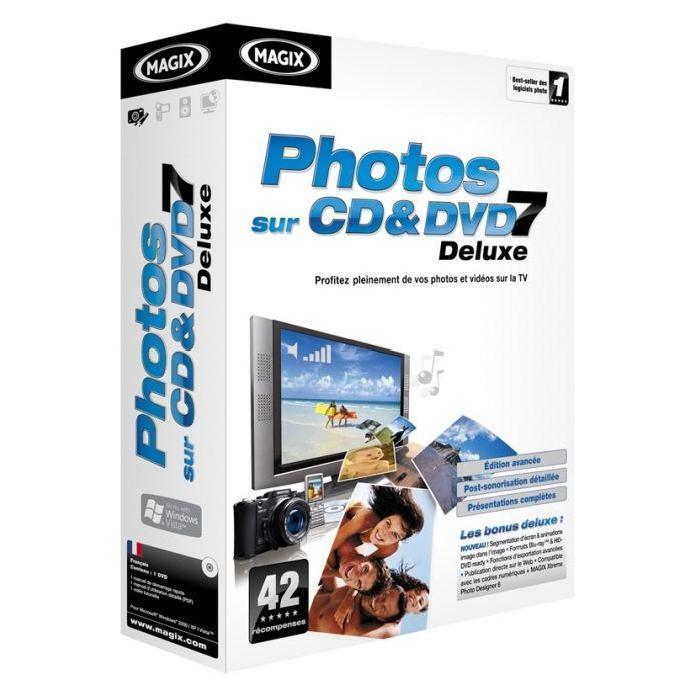 Magix Photos sur CD & DVD 7 Deluxe Achat / Vente logiciel loisirs