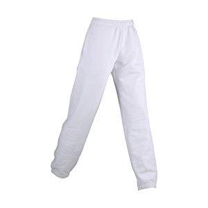 JAMES NICHOLSON pantalon jogging homme blanc JN036 taille S