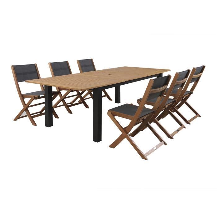 Chaises de jardin pliantes topiwall - Table pliante 4 chaises ...