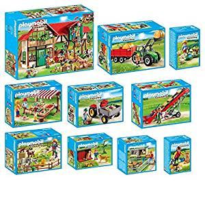 PLAYMOBIL® Country ferme set en 10 parties 6120 6121 6130 6131 6132