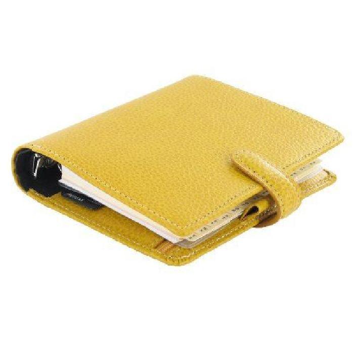 filofax finsbury organiseur de poche jaune impo? Achat