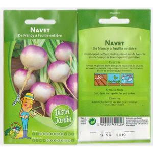 GRAINES JARDIN NAVET Achat / Vente graine semence GRAINES JARDIN