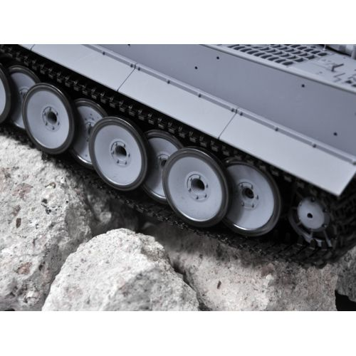 High Tech Place Tiger I Tank radiocommande 1/16 Airsoft / Lanceur