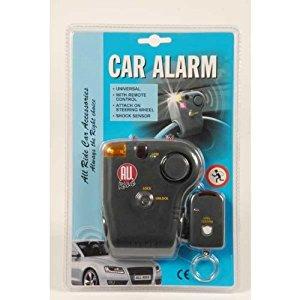 alarme a telecommande antivol blocage de volant de voiture