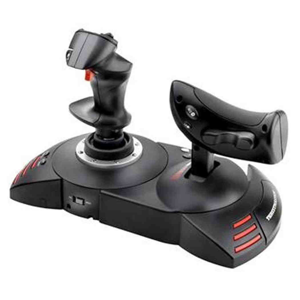 Thrustmaster T Flight système hotas x joystick PC PS3 simulator