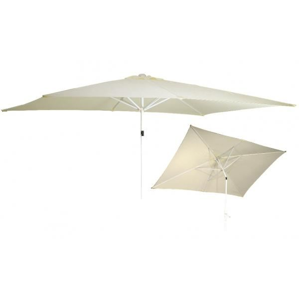 Parasol inclinable rectangulaire Achat / Vente parasol ombrage