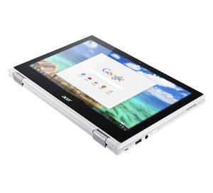 Acer Chromebook CB5 132T Ordinateur 2 en 1 Tactile 11″ Blanc (Intel