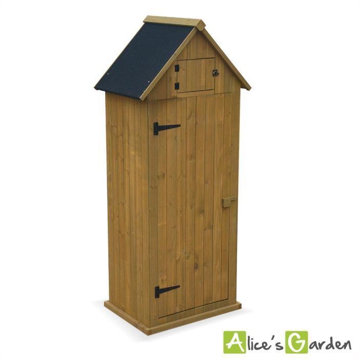 armoire jardin bois topiwall. Black Bedroom Furniture Sets. Home Design Ideas