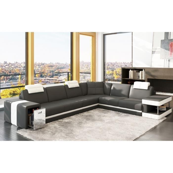 canape d angle cuir topiwall. Black Bedroom Furniture Sets. Home Design Ideas