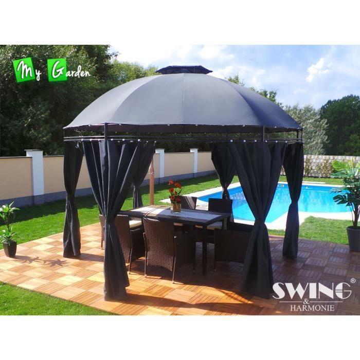 Pavillon de jardin LAVO Swing & Harmonie Rond diamètre 350cm de