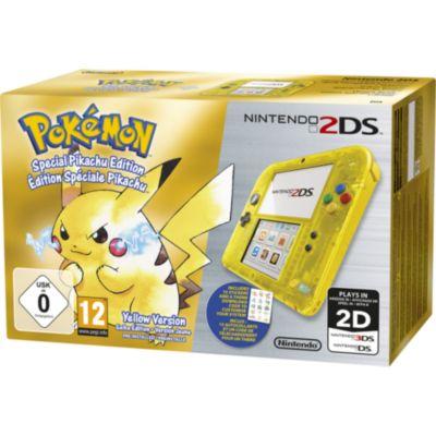 console 2ds nintendo 2ds jaune pokémon version jaune voir la