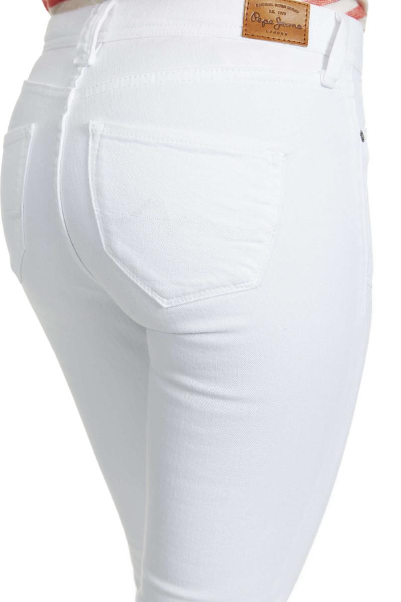 Jeans Pepe Jeans Melissa Flare Blanc Femme Achat et vente