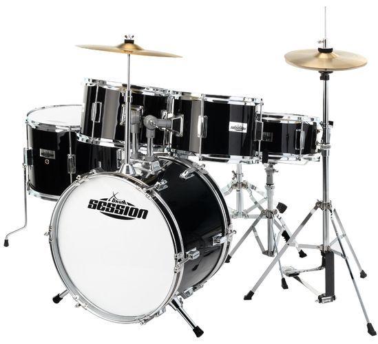 XDrum Session Junior Pro Set de batterie Black (4 9 ans)
