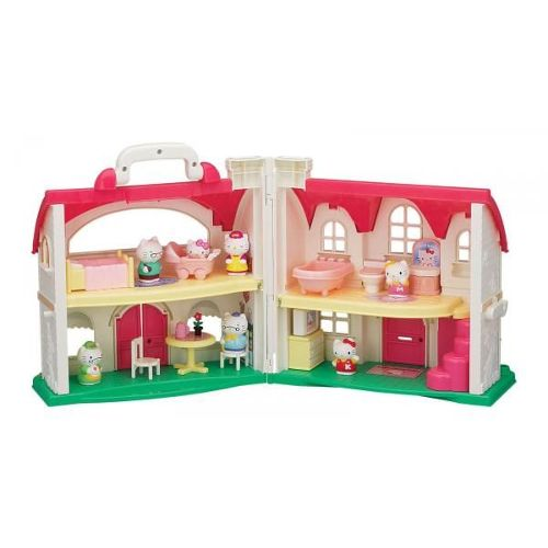 Maison de poupées Hello Kitty : La maison du bonheur Hello Kitty