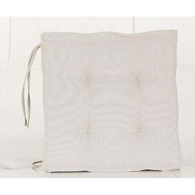 Coussin pour fauteuil de jardin 40 x 40 cm beige Hesperide | La