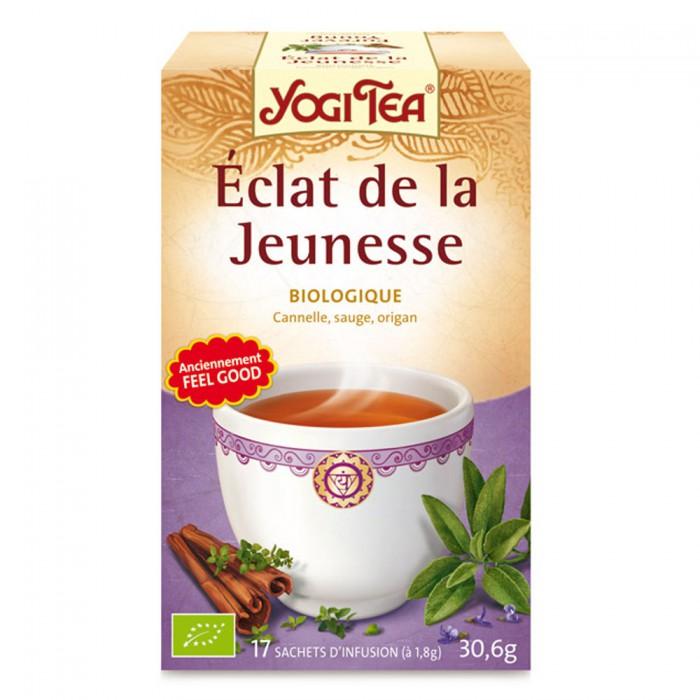 YOGI TEA ECLAT DE LA JEUNESSE 17 SACHETS Easyparapharmacie
