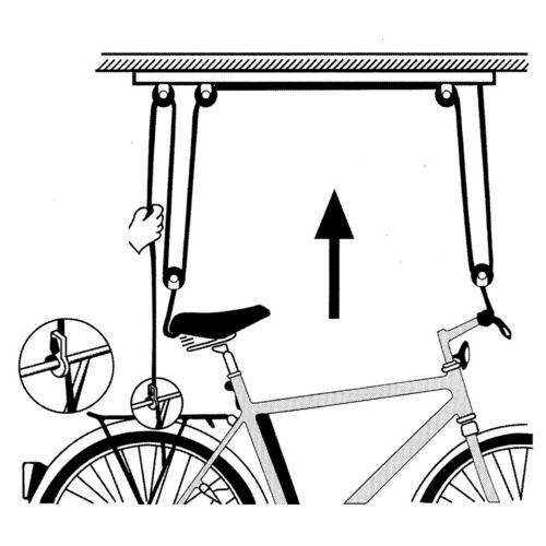 Atlantic Support plafond vélo pas cher Achat / Vente Supports et