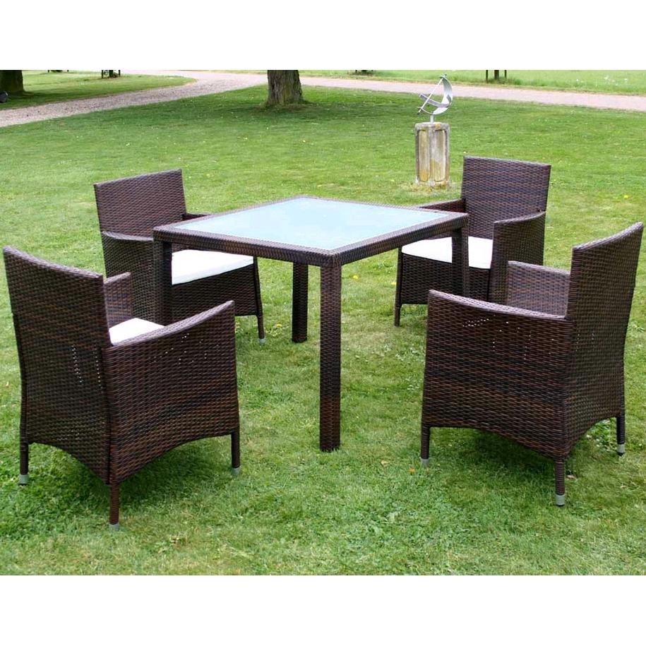 Ensemble Table avec Chaises /Salon de jardin/Ensemble FauteuilChaises