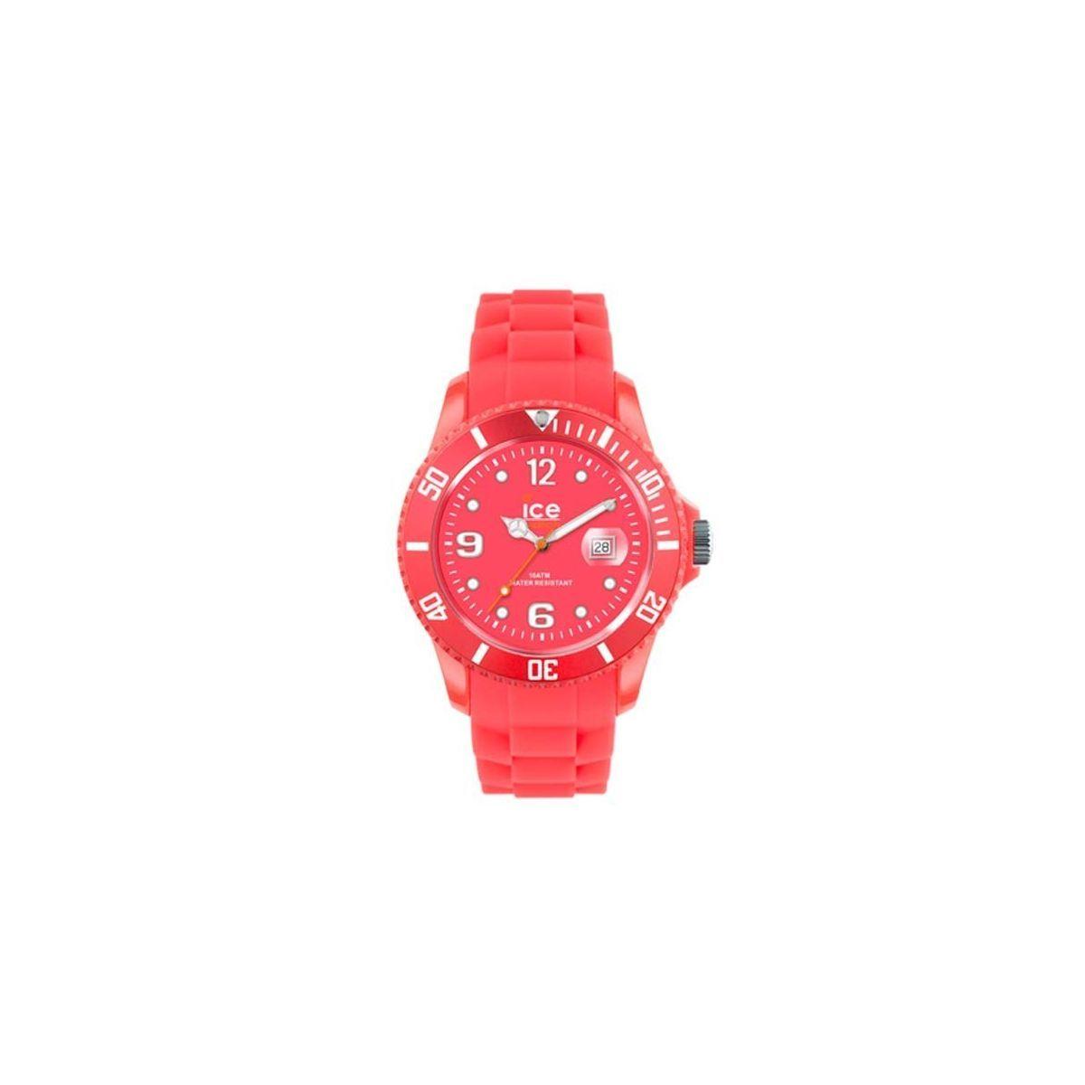 Montre ice watch flashy big rouge Ice Watch