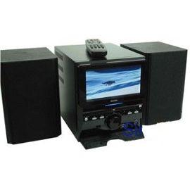 Chaîne Hi Fi Combiné Lecteur DVD Ecran LCD Intégré de 8″ Grandin