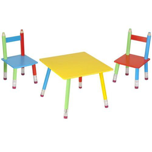 La Chaise Longue Salon pour enfant Crayons Multicolore pas cher