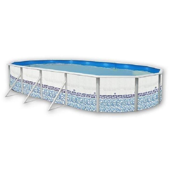 Liner piscine ovale topiwall for Liner piscine acier