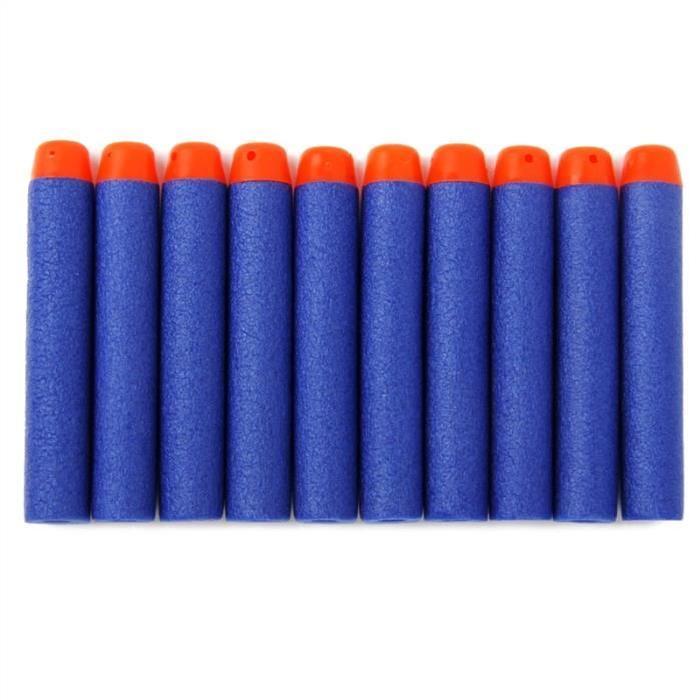 100pcs 7.2cm Fléchettes en mousse pour Nerf N strike Série Elite