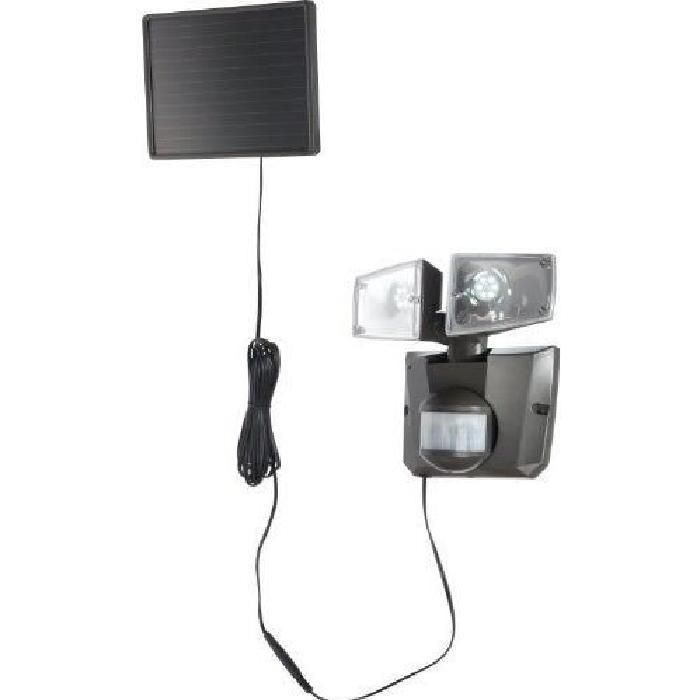 Globo Double spot à énergie solaire avec détecteur de mouvements
