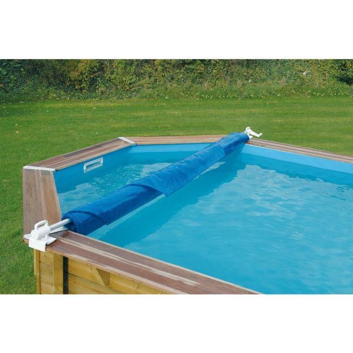 Enrouleur de bâches de piscine léger amovible Achat / Vente