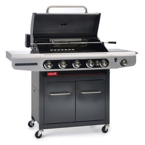 Barbecue au gaz BARBECOOK Siesta 612, 5 bruleurs + 1 side burner