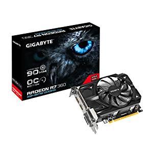 Gigabyte R736OC 2GD Carte graphique AMD Radeon R7 360 1050 MHz 2048 Mo