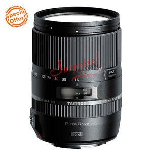 Tamron 16 300mm f 3 5 6 3 di ii vc pzd macro lentille pour canon B016E