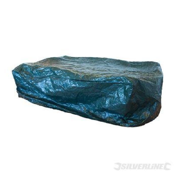 Housse de protection imperméable pour table rectangulaire, en