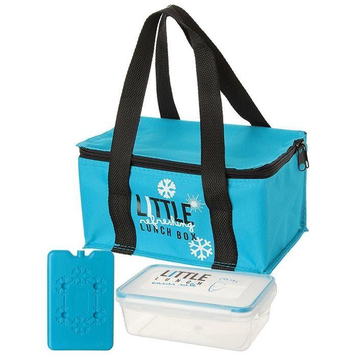 Boite à Repas Isotherme hermétique Lunch Box Bleu Achat / Vente