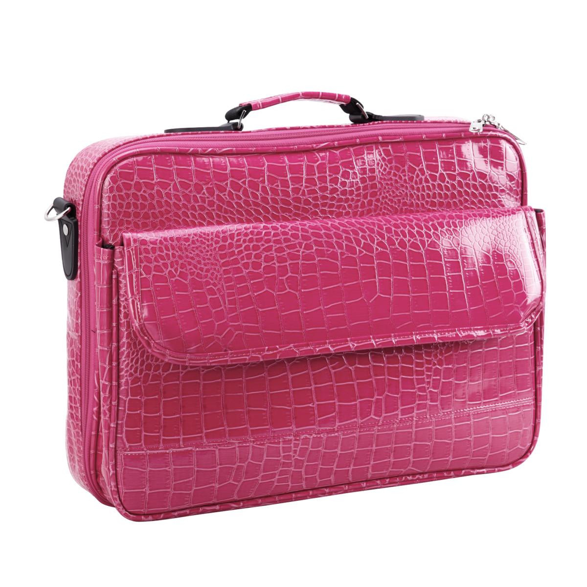 Serviette Housse Etui de Rangement 17 Croco PC Portable Tablette Ipad