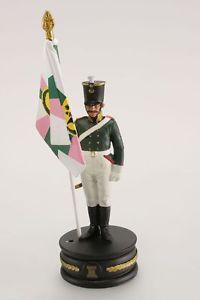 Napoléon jeux d'échecs de collection : Porte drapeau du