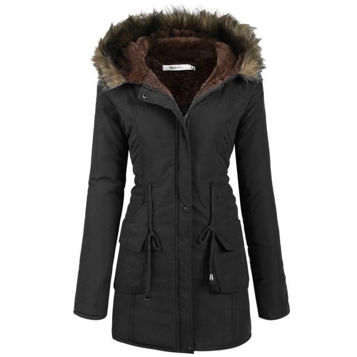 Manteau femme hiver taille 34